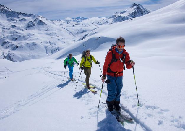Skitour im Brixental in Oesterreich