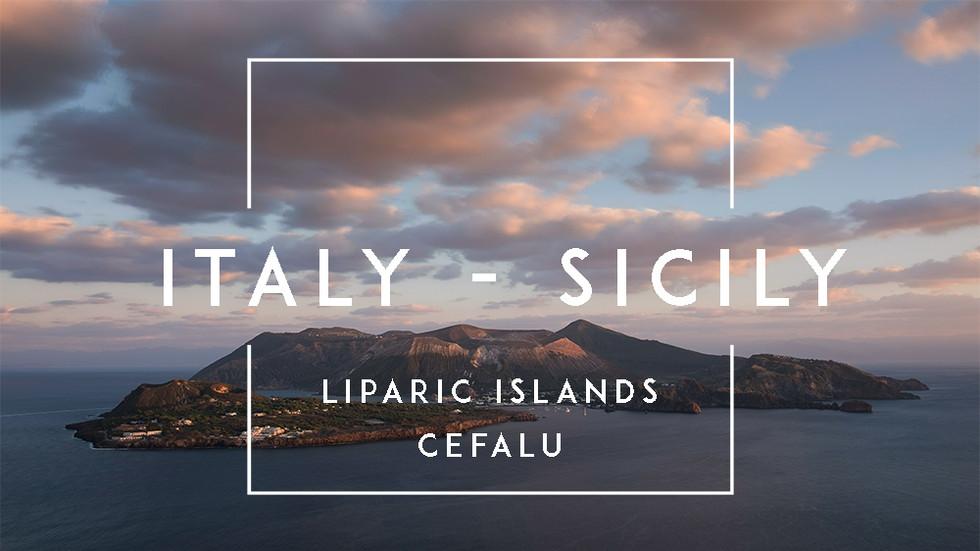 Zeitraffer-Videos von Sizilien in Italien