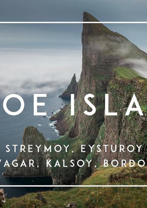 Zeitraffer Video Färöer Inseln