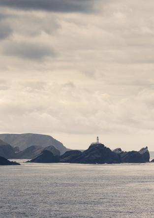 Leuchtturm auf den Shetland Inseln
