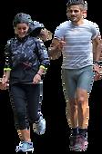 MrCutout.com - couple-jogging-0001-mediu