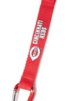 MLB Cincinnati Reds Carabiner Lanyard