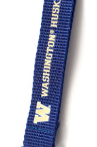 NCAA Washington Huskies Carabiner Lanyard