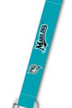 MLB Miami Marlins Carabiner Lanyard