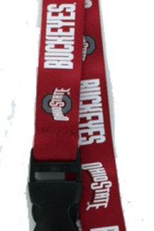 NCAA Ohio Buckeyes Lanyard