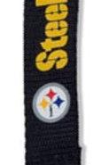 NFL Pittsburgh Steelers Carabiner Lanyard