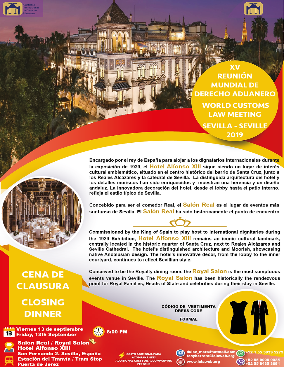 FLYER CENA DE CLAUSURA. CLOSING DINNER_M