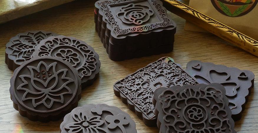Zeremonielle Kakaotaler - 12 Stück mit je 30g