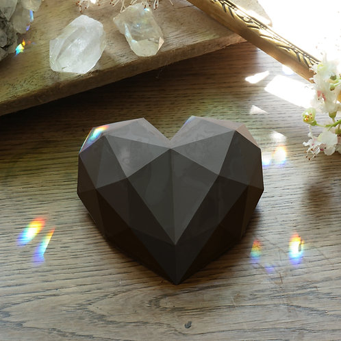 Cocoa diamond heart - 150g from 5 pieces.
