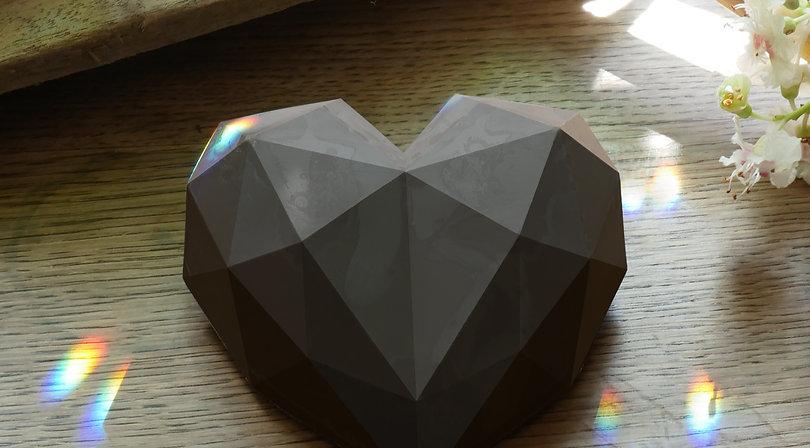 Diamond heart - 150g ceremonial cocoa