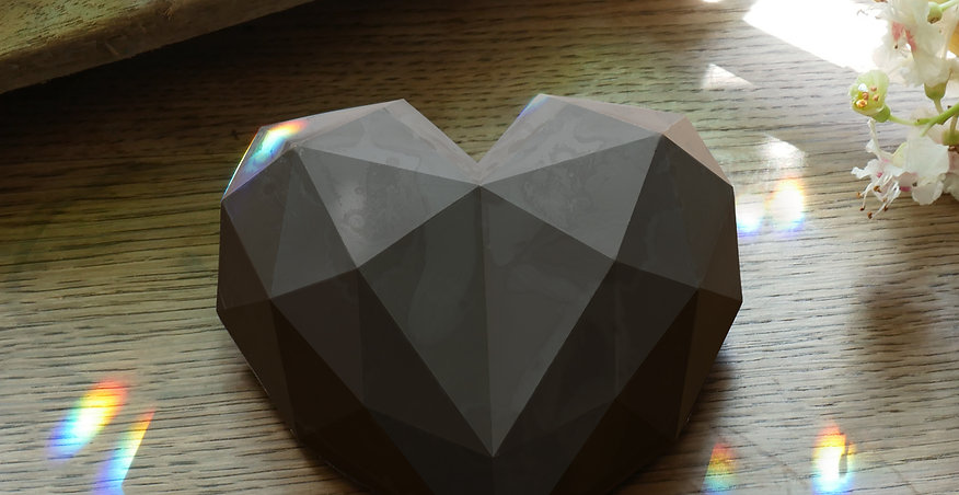 Kakao-Diamantherz - 150g zeremonielle Kakaomasse