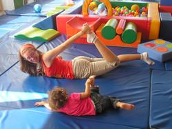 Aula Yoga na Creche