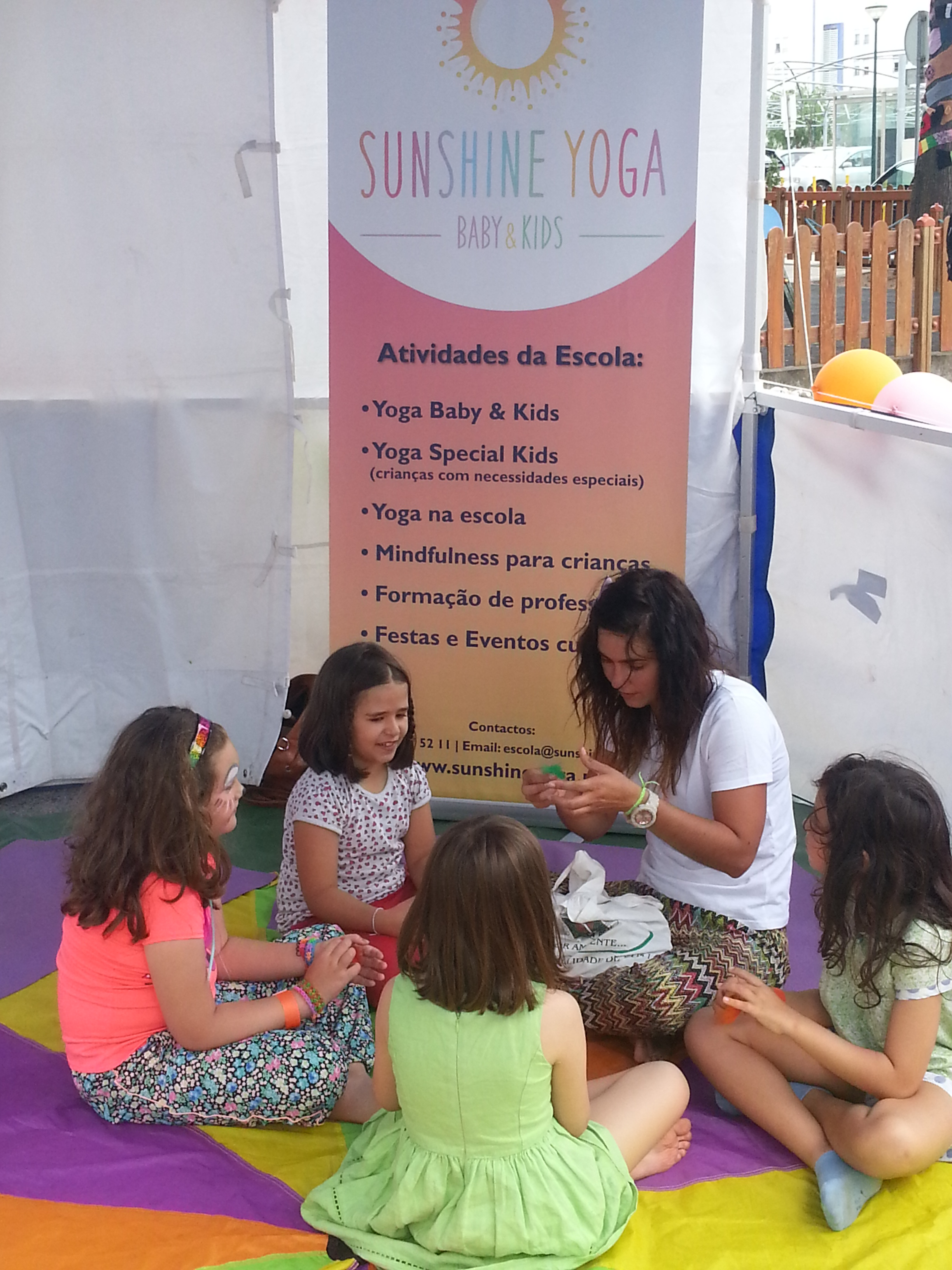 Aula Yoga Kids eventos