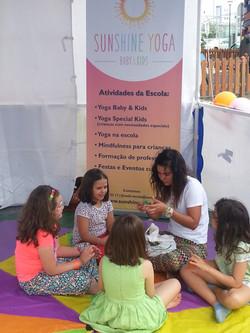 Aula Yoga Kids eventos