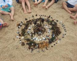 Aula Yoga na Praia