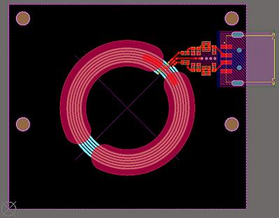 mifare pcb antenna spiral
