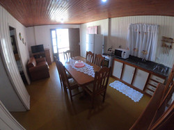 Cozinha sala jantar
