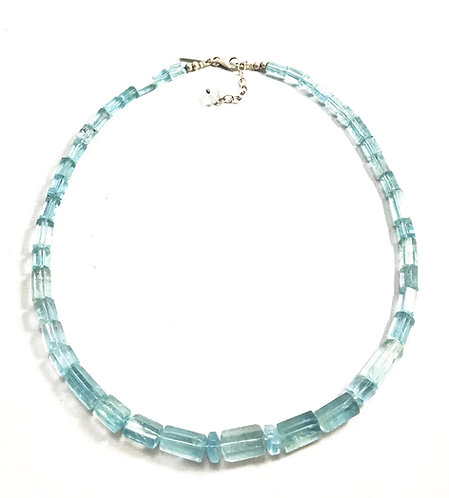 Aquamarine Natural Necklace