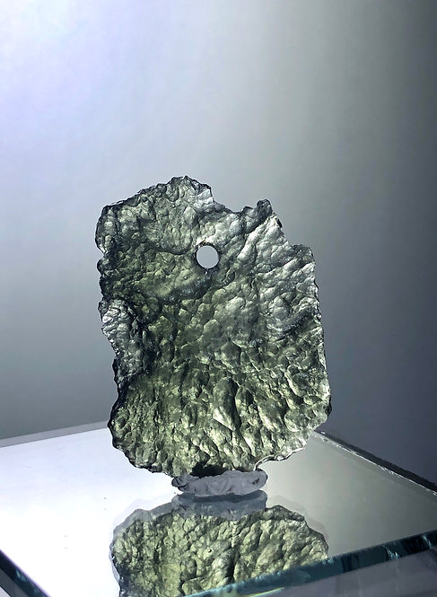 Drilled Natural Moldavite