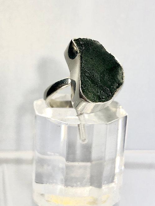 Moldavite Ring