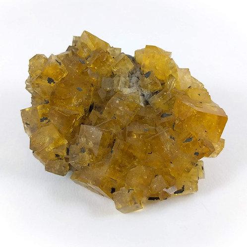 Fluorite (Yellow) Cluster