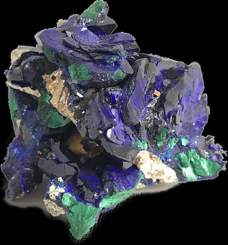 Azurite Clustered Specimen