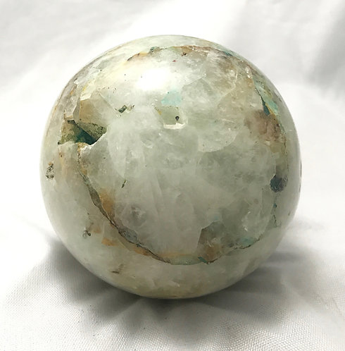 Honeycomb Chrysoprase Sphere
