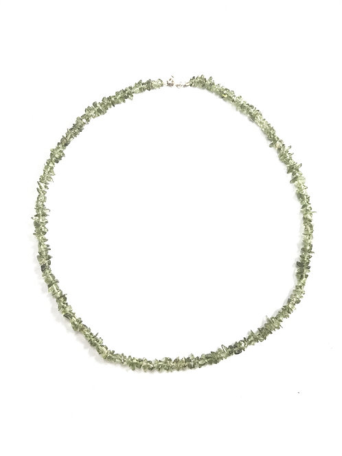 Moldavite Chip Necklace