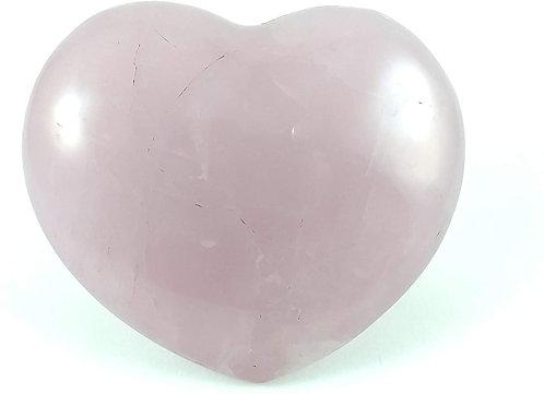 Rose Quartz Heart