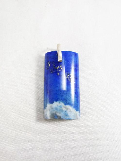 Lapis Lazuli Rectangular Pendant