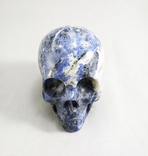 Sodalite Skull