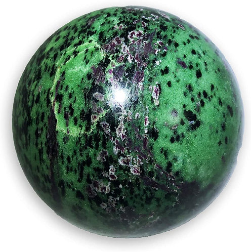 Ruby Zoisite Sphere