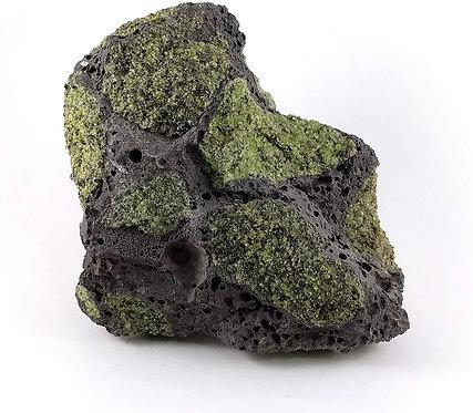 Basalt Lava Rock with Peridot