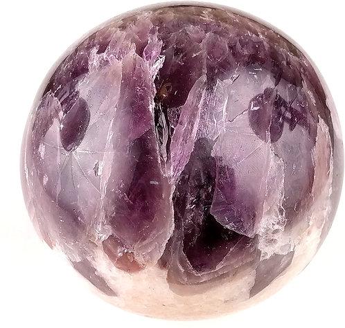 Amethyst Crowned Sphere