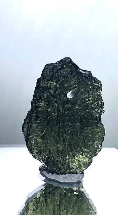 Drilled Natural Moldavite