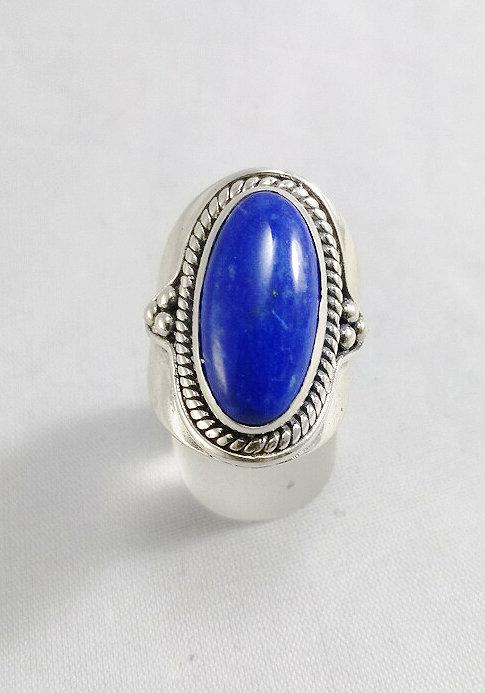 Lapis Lazuli Oval Ring (8)