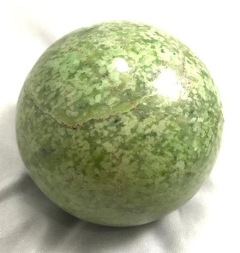 Grossular Garnet Sphere