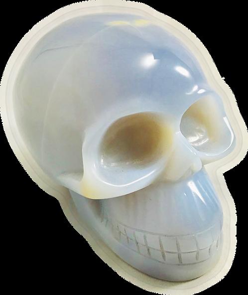 Chalcedony Skull
