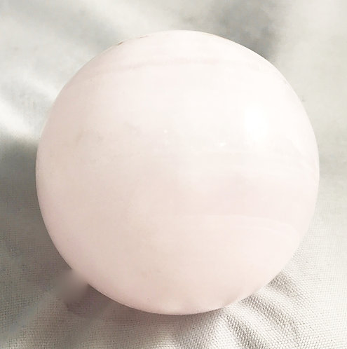 Pink Calcite Sphere