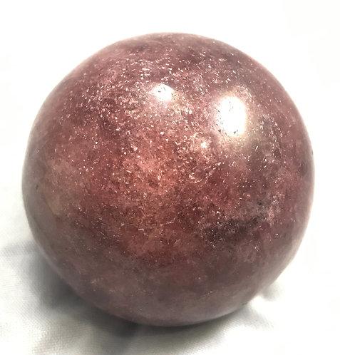 Red Tanzurine Sphere