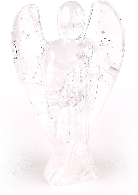 Quartz Angel with Inner Child Point