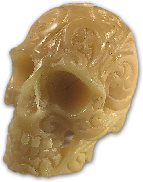 Hand-Carved Vegetable Ivory Skull