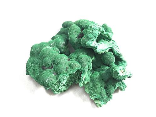 Malachite Botryoidal Fibrous Specimen (4.44 oz)