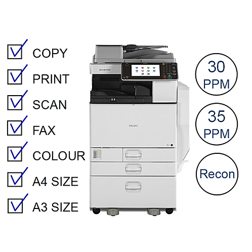 Ricoh MP C3000 series Colour Laser MFP