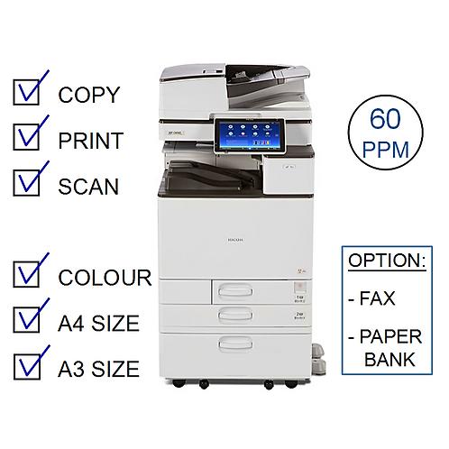 Ricoh MP C6004exSP Colour Laser MFP (HP/L)