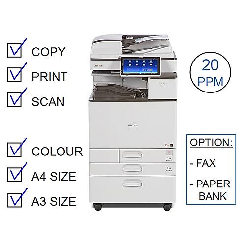 Ricoh MP C2004exSP Colour Laser MFP (HP/L)