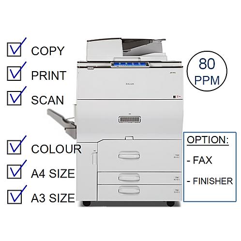 Ricoh MP C8003SP Colour Laser MFP (HP/L)