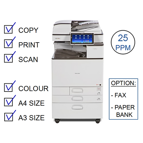 Ricoh MP C2504exSP Colour Laser MFP