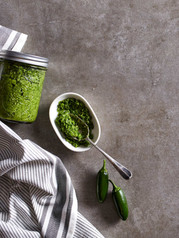 Green Chili Pesto