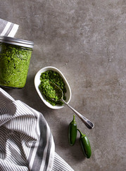 Green Chili Pesto